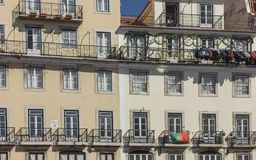 Free Fragment Of The Facade Of The House In The Oldest Lisbon`s Work, Alfama Royalty Free Stock Image - 137132426