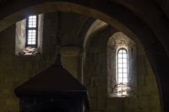 Free Fragment Of The Interior Of The Old Stone Castle Royalty Free Stock Photo - 111020025