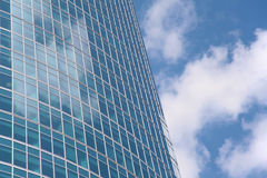 Fragment of office building Stock Images