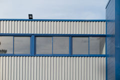 Fragment of the office buildings with modern architecture. Stock Photography