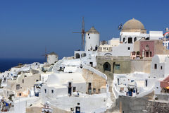 Fragment of oia Stock Photos