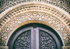 Fragment of old architectural building Stock Image