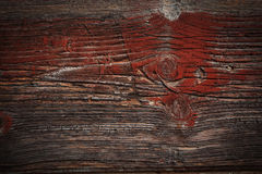 Fragment of the old board Royalty Free Stock Image