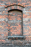 Fragment of old brick wall. Stock Images