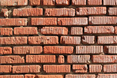 Fragment of the old brick wall Stock Photos