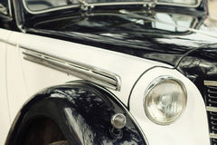Fragment old car Royalty Free Stock Images
