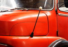 Fragment a the old fire engine Royalty Free Stock Images