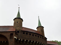 Fragment of an old fortification Royalty Free Stock Images