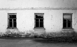 Fragment of old house. Royalty Free Stock Images