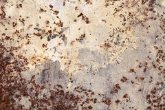 Fragment of an old rusty wall Stock Photography