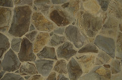A fragment of the old stone wall Stock Image