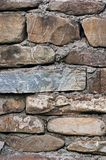 Fragment of an old stone wall. Stock Photography