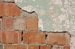 Fragment of an old wall Stock Photos