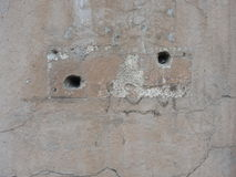 Fragment of old wall texture Royalty Free Stock Image