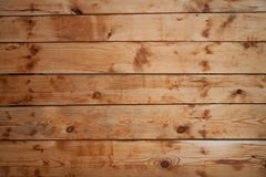 Fragment of old wood wall. With the gnarls royalty free stock photography
