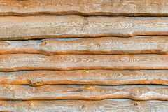 Fragment of old wooden fence. Royalty Free Stock Images