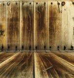 Fragment old wooden frame Stock Images