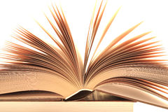 Fragment of the opened book Royalty Free Stock Image