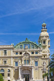 Fragment of Opera Garnier. Monaco. Royalty Free Stock Photography