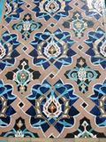 Fragment of ornament of mosque Stock Photos