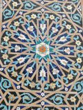 Fragment of ornament of mosque Royalty Free Stock Photo