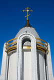A fragment of an Orthodox chapel Royalty Free Stock Photography