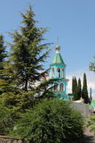Fragment of an Orthodox church. Royalty Free Stock Photography