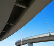 Fragment of the overpass Stock Photography