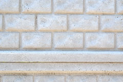 Fragment of the painted stone wall Royalty Free Stock Image