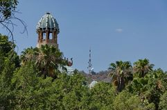 Fragment of Palace of the Lost City hotel in Sun City Royalty Free Stock Images