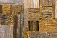 Fragment of panel from different grunge vintage weathered boards, old wood surface wall. Wooden textures for design Royalty Free Stock Photography