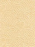 Fragment of a paper napkin Royalty Free Stock Photography