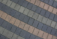 The fragment of a pavement, Old brick Stock Photos