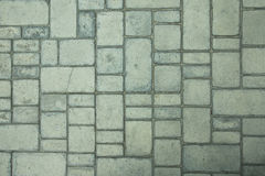 A fragment of the pavement Stock Image