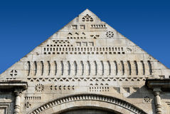 Fragment of Pediment Royalty Free Stock Photography