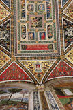 Fragment of Piccolomini Library ceiling in Siena Cathedral, Ital Stock Images