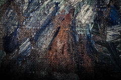Fragment of the picture for the abstract artistic background. To Royalty Free Stock Image