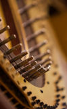 Fragment pins Harp Royalty Free Stock Image