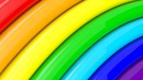 Fragment of rainbow, abstract background Royalty Free Stock Photo
