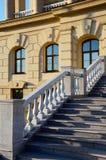 A fragment of the Razumovsky palace in Baturin, Ukraine Stock Images