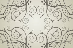 A fragment of a rectangular ornament Royalty Free Stock Images