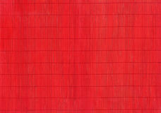 A fragment of red bamboo mats Royalty Free Stock Image