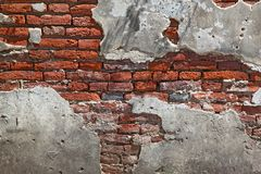 Fragment red brick wall Royalty Free Stock Photography