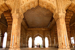 Fragment of a Red Fort Stock Image