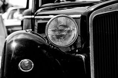 A fragment of a retro car Royalty Free Stock Photo