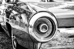 A fragment of a retro car Royalty Free Stock Images