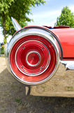 A fragment of a retro car Stock Photography