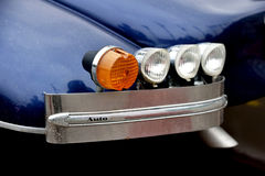 Fragment of retro car   Royalty Free Stock Images