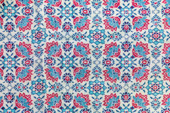 Fragment of retro tapestry textile Fabric Stock Images