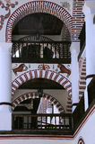 Fragment of the Rila Monastery Royalty Free Stock Images